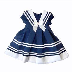 NWT Bonnie Jean navy sailor dress